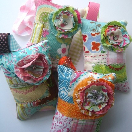 Traciebdesigns_Posy Patchwork Lavender Sachets