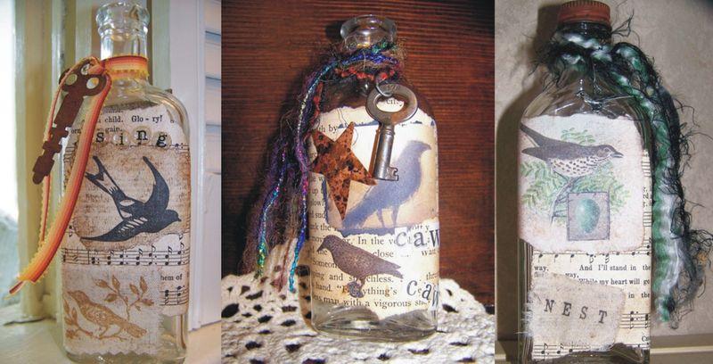 Queen bee_bottles1