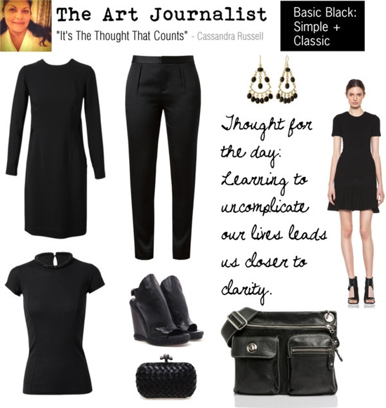 0 polyvore- 3 basic blk- classic and simple