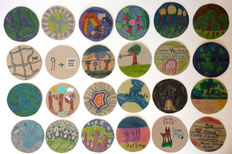 2014 earth week-eco-lovely-badges-project notes