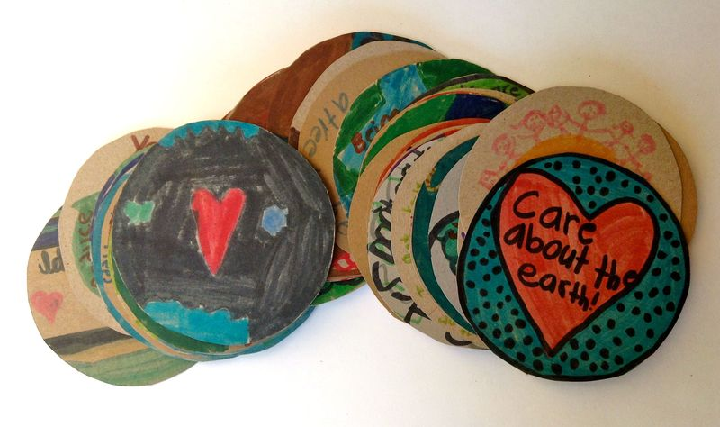2014 earth week-eco-lovely-badges-project notes2