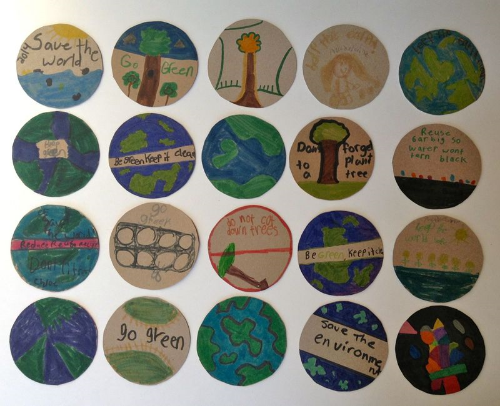 2014 earth week-eco-lovely-badges-project notes1